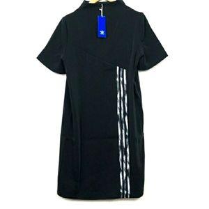 Adidas DC dress NWT trefoil oversized, mock neck